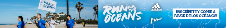 Banner adidas - run for the oceans